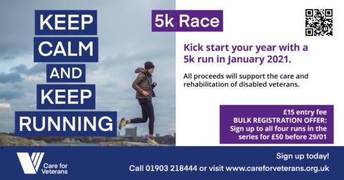 Keep Calm Keep Running 5k