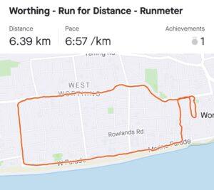 Route - Team Tomlinson - 5k