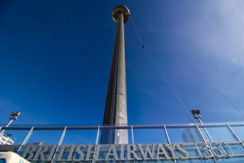 British Airways i360 abseil