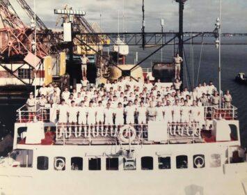 HMS Endurance Xmas 87