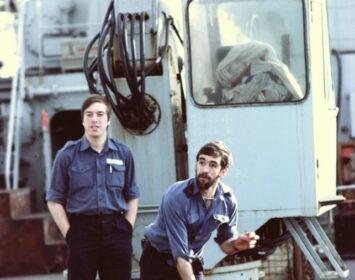 HMS Protector 1985 summer